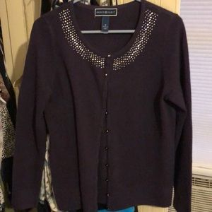 Soft Bejeweled cardigan